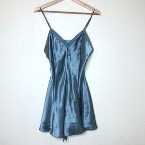 Vintage Cacique Blue Nightgown